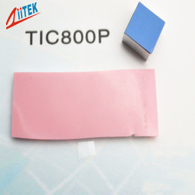 Cache Chips PCM Phase Change Material Pink 0.95w Micro Heat Pipe Thicknesses 0.076mm