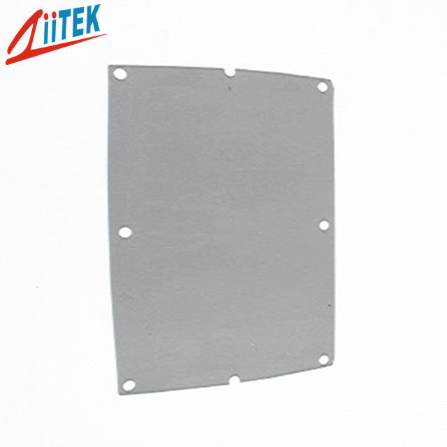 Chip Heat Sink Silicone Thermal Insulation Sheet , Industrial Thermal Insulation Fabric