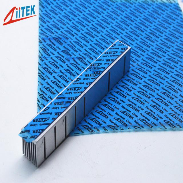 Self Adhesive Heat Sink Thermal Pad Sticky Insulation Blue 3.2W/MK CPU Laptop Cooling
